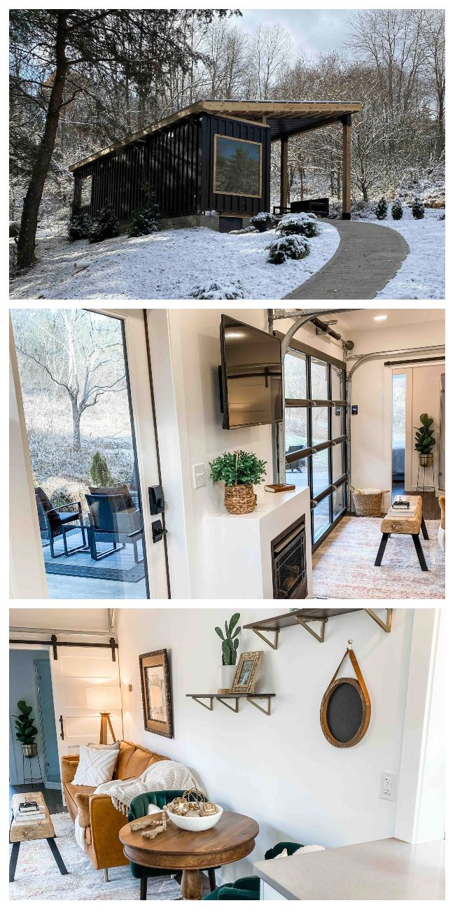 The Lily Pad Cozy Container Home