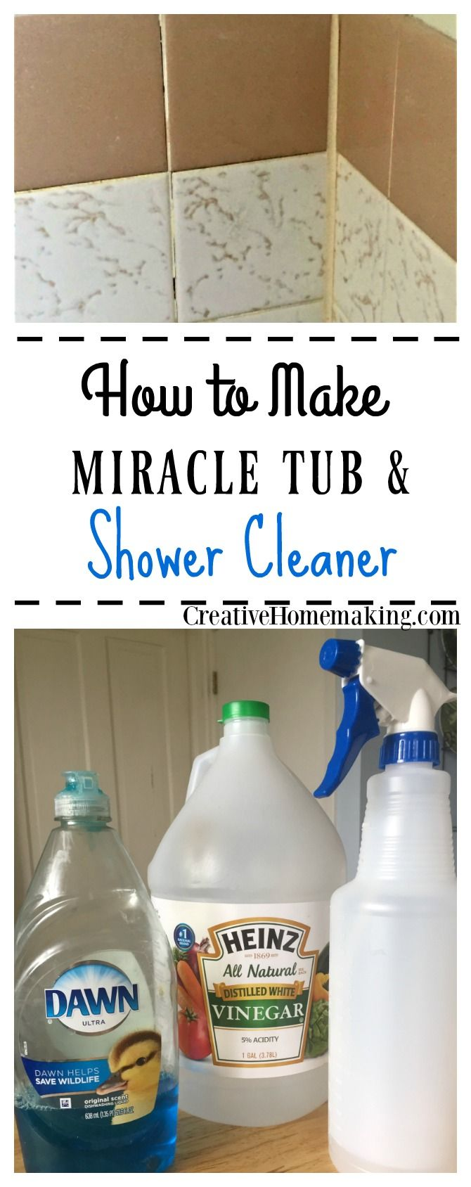 Miracle Tub And Shower Cleaner Cleaning Tips Clean