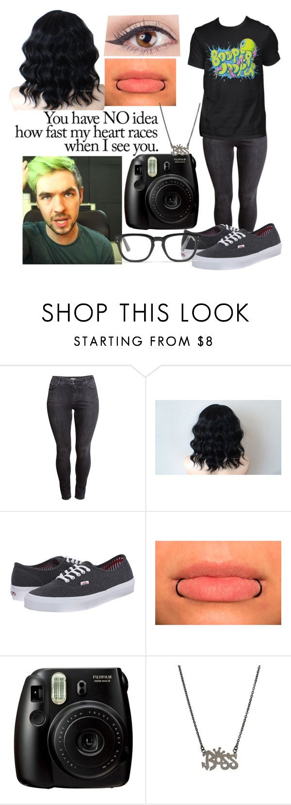 """""""Meeting Jacksepticeye"""" by slytheringirlriddle ❤ liked on Polyvore featuring H&M, Love Quotes Scarves, Vans and Madewell"""