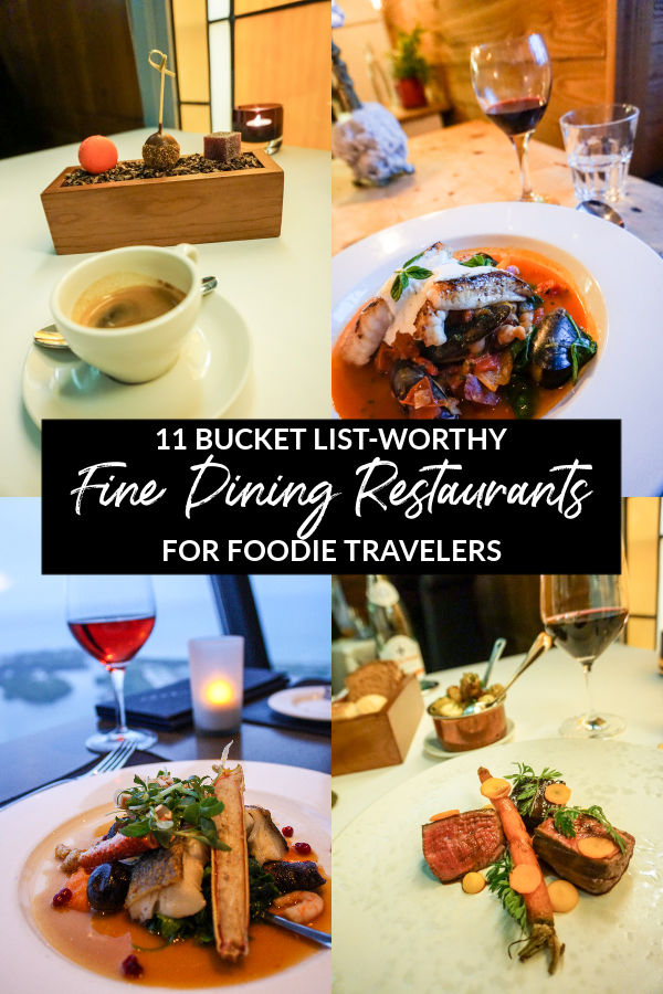 11 Fine Dining Restaurants Where You Should Eat This Year In 2020 Fine Dining Restaurant Fine Dining Foodie