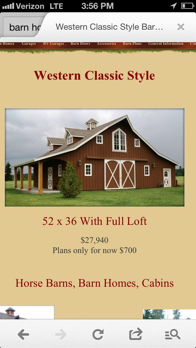 This Is My Dream Home Barn House Plans Pole Barn Homes Barn House