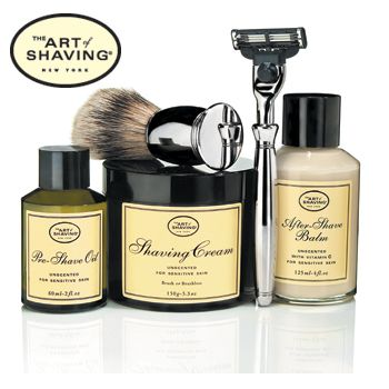 The Art of Shaving; Christmas gifts for papa and boyfriend