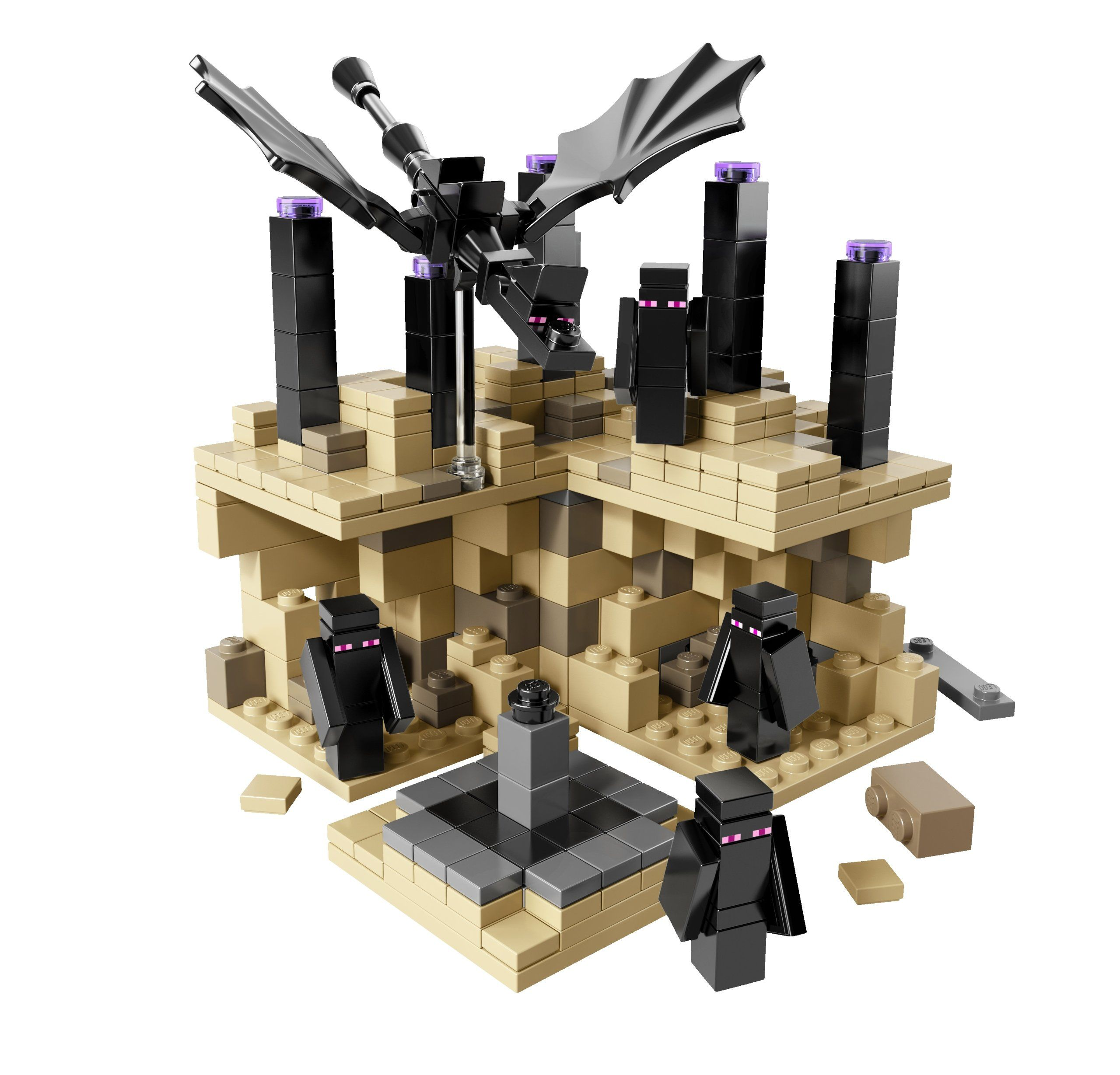 Frontrunner Amazoncom Lego Minecraft Micro World  The End 21107
