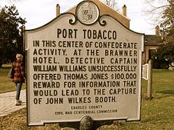 MARYLAND  Port Tobacco, Md -  My mom's side.  Catherine Brook Matney Paternal line:   John Hunt  8x grandfather Birth 1653 in Warwichshire Co,  Died Nov 1699 in Port Tobacco, Charles, Maryland, United States
