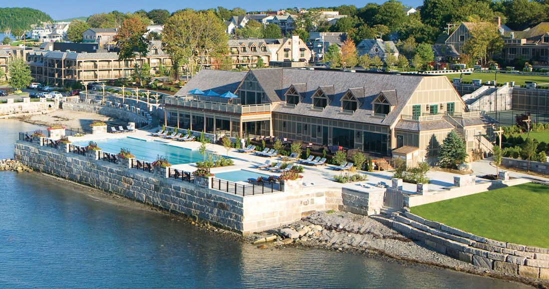 The Harborside Hotel Spa Marina Is A Premier Resort Facility In Bar Harbor Maine It Nestled Downtown And Just Moments Away From Acadia
