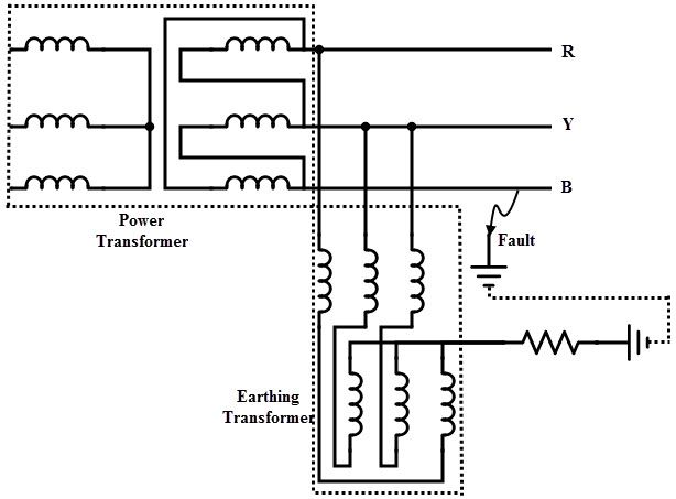 circuit diagram isolation transformer