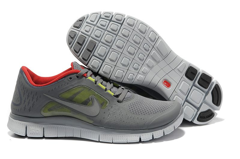 nike free run 3 size 12 gray