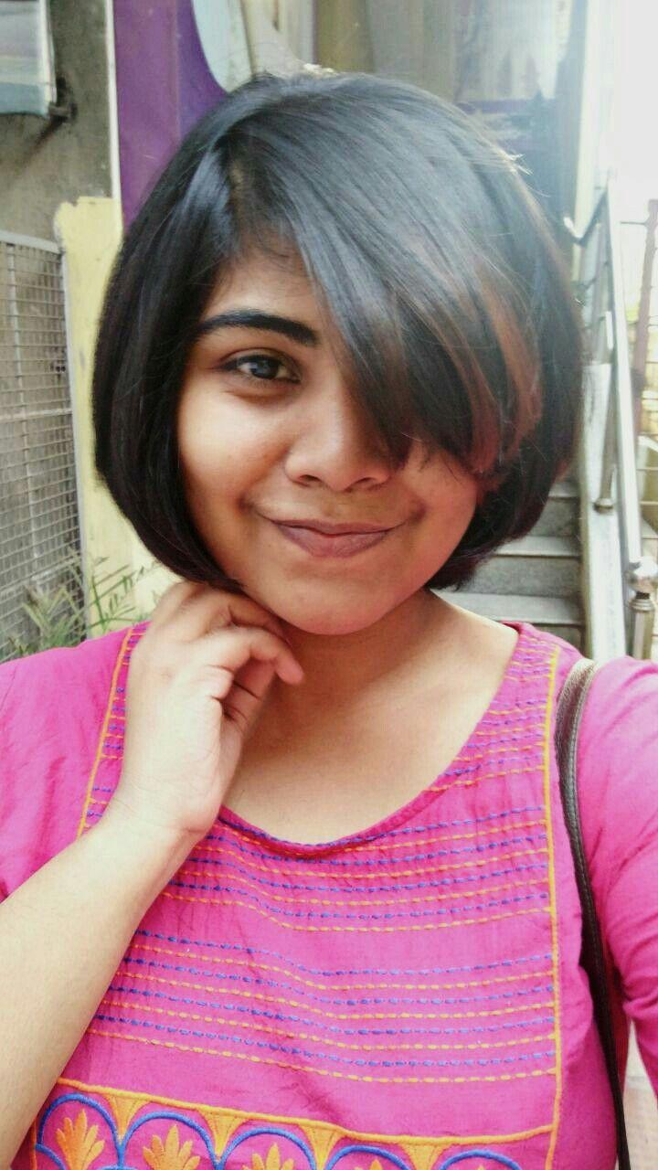 Shorthair Hairstyle Indian Highlights Layercut Short Hair