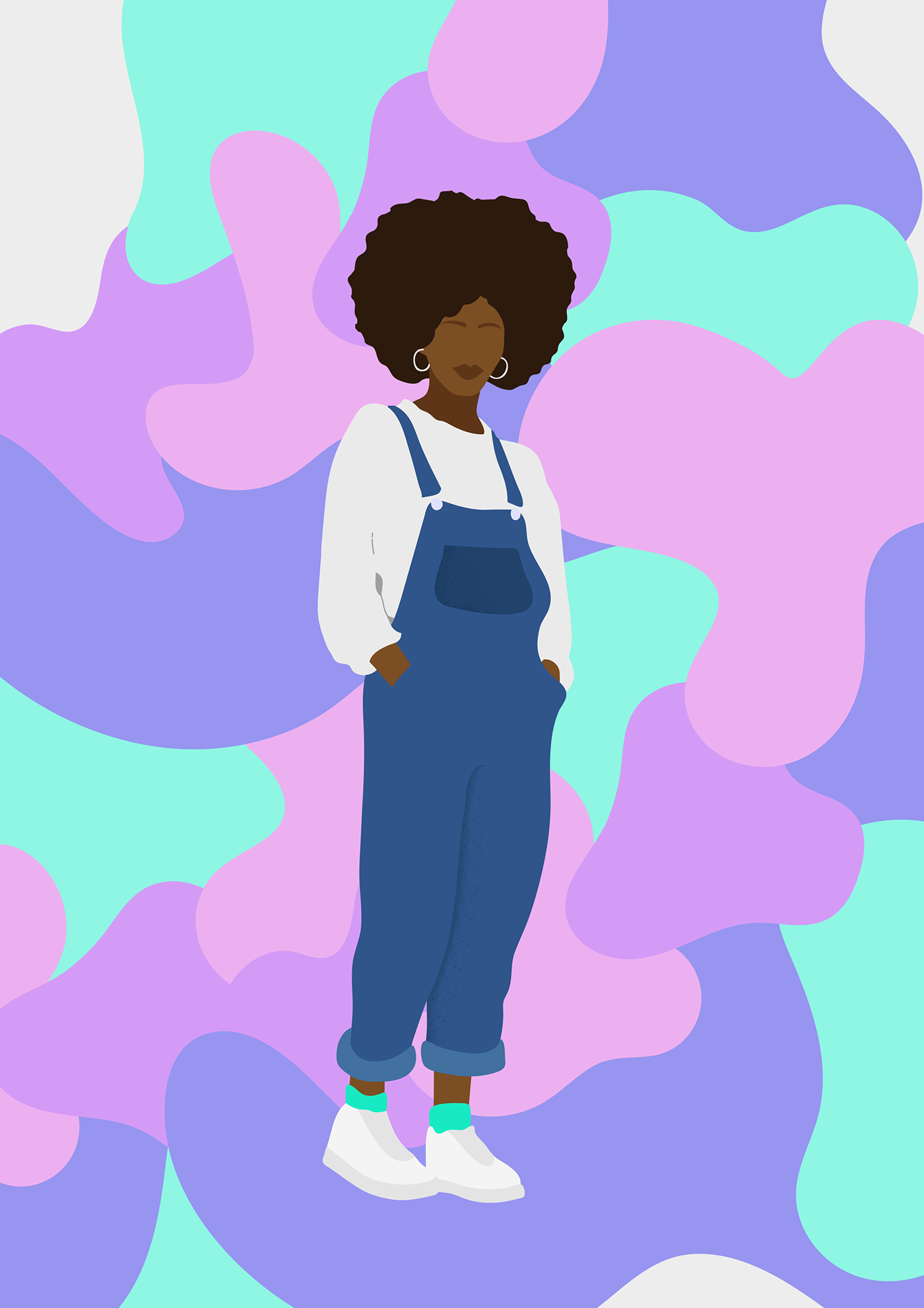 black girl magic Design GraphicDesign Illustration