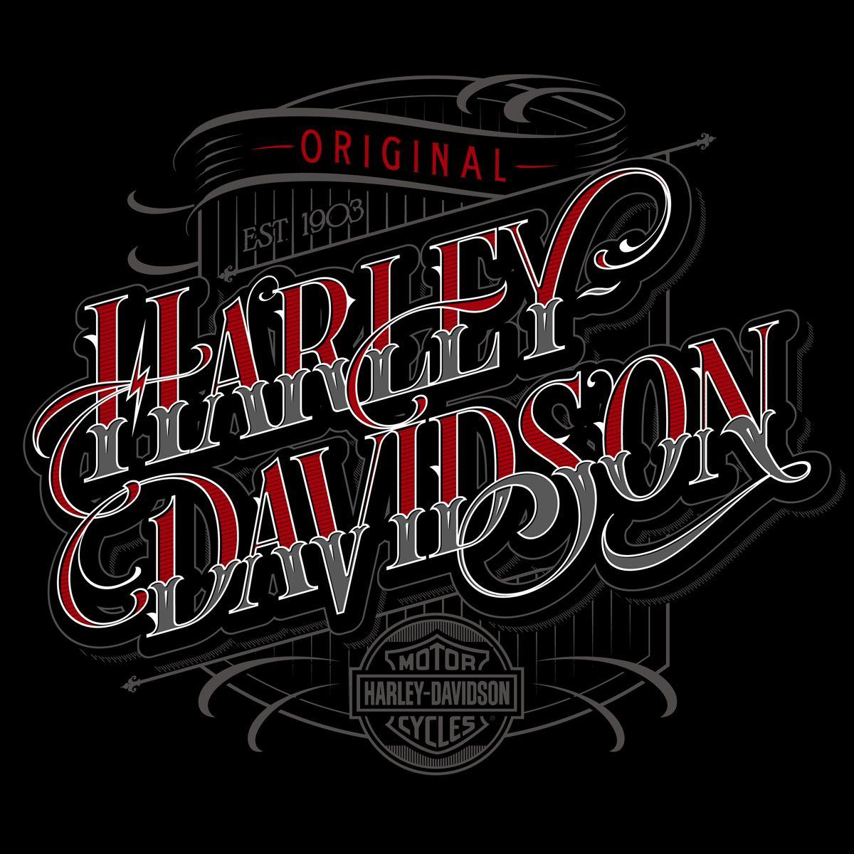 Harley Vinyl Letters Harley Davidson Tank Emblems Pair Old