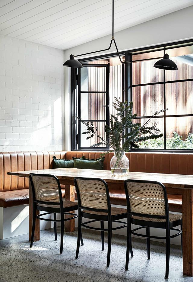 A traditional cottage with a modern extension in Balmain