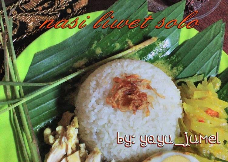 Resep Sego Nasi Liwet Solo Komplit Oleh Yayuk Jumell Resep Nasi Resep Labu