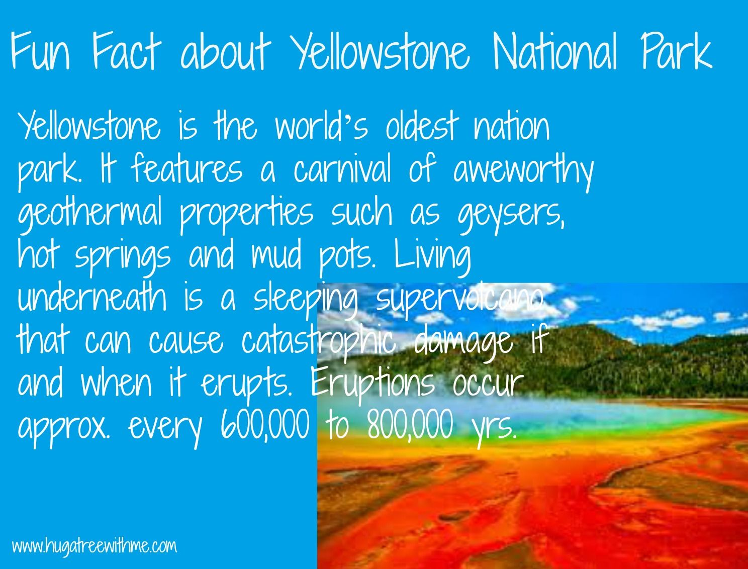 Fun Facts about Yellowstone National Park | Eco Fun Facts ...