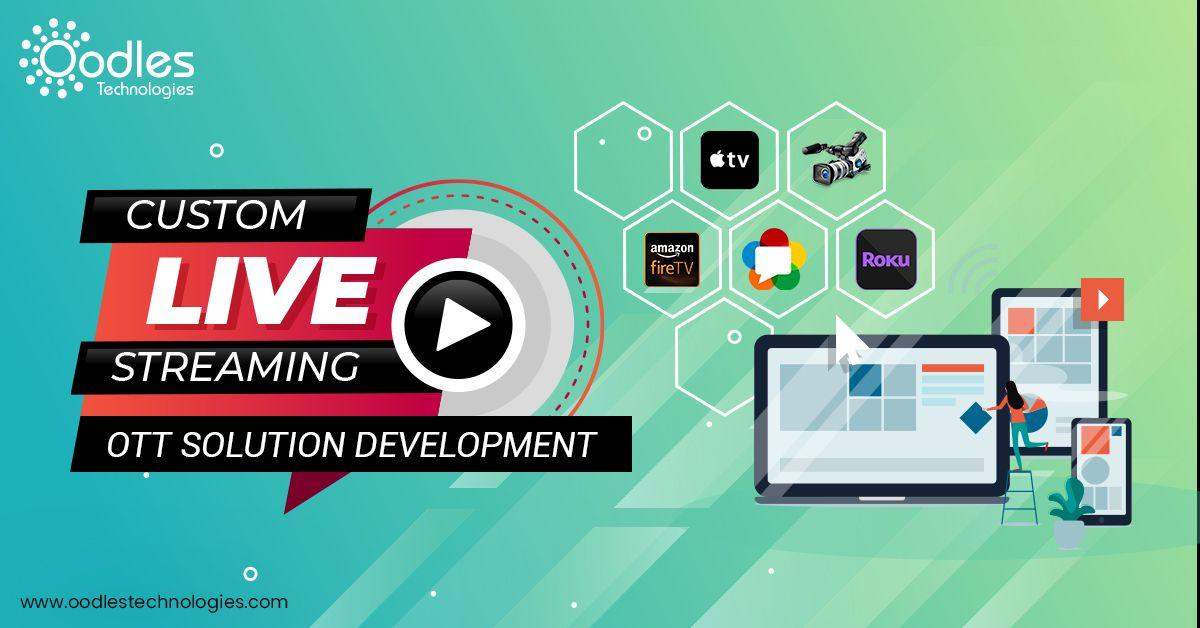 Looking for Video streaming app development services  Then
