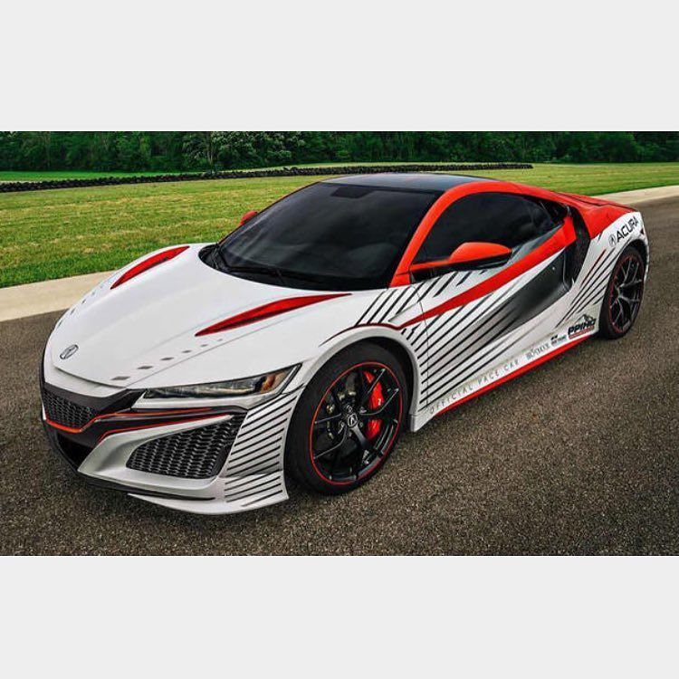 Incredible Wrap For The Prototype NSX From The
