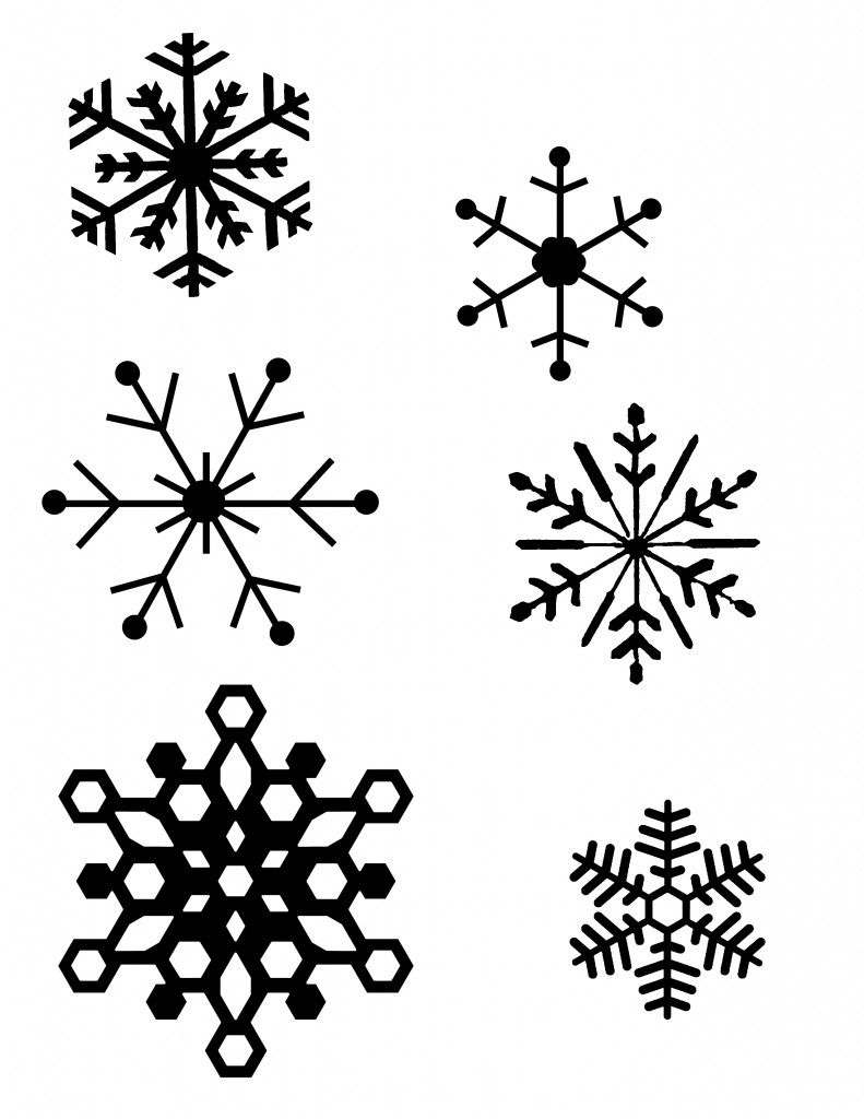 DIY Snowflake Window Clings Plus Tips And The Best Method Template