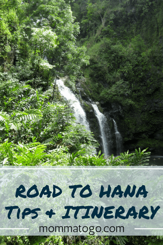 Driving the Road to Hana, Maui, Hawaii. Best tips and a sample itinerary of stops your family will love. http://www.mommatogo.com