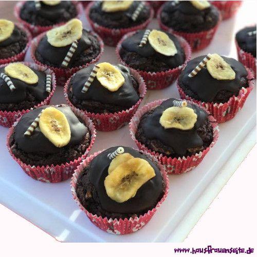 Schoko Bananen Muffins Rezept Schokoladenkuchen Pinterest