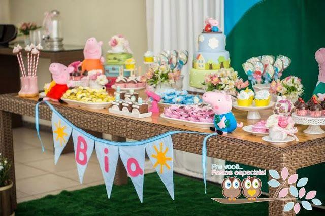 TUDO PRA SUA FESTA: Festa Peppa Pig