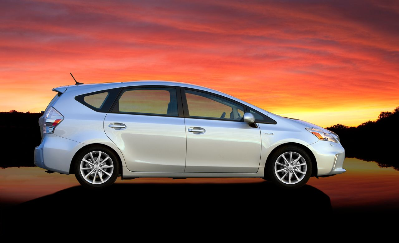 The 2012 toyota prius v at n charlotte toyota was voted a best family car