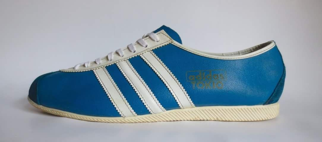check out a123b 3e51b Vintage Adidas Tokyo, made in West Germany in 1969, 49-yrs-old!!