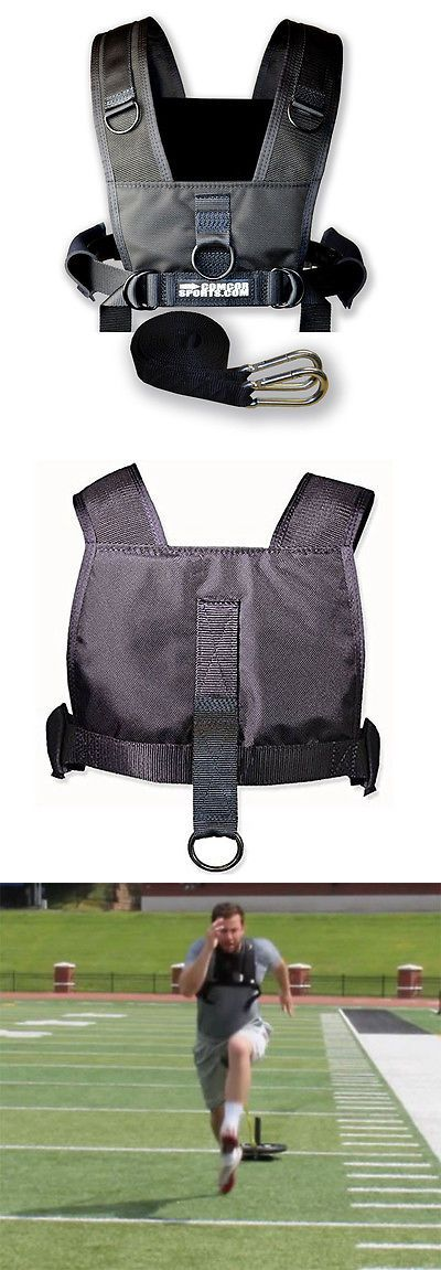 Other Strength Training 28067: Youth Sled Harness - Padded Shoulders