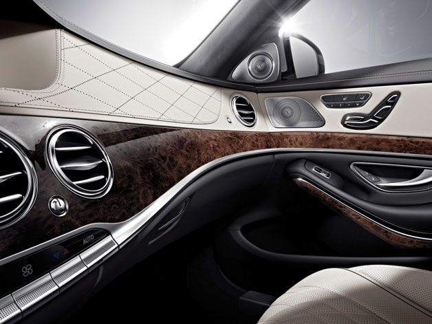 Mercedes Benz Releases Stunning First Images Of 2014 S Class With