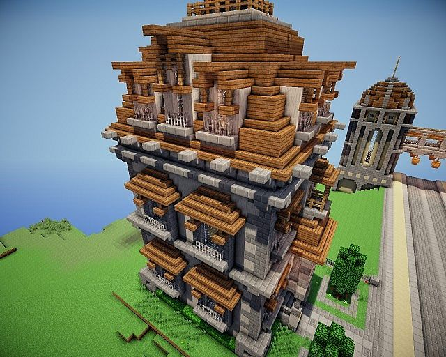 Victorian House In Maple Distrct Minecraft Project Minecraft Haus - Minecraft hauser einrichten deutsch