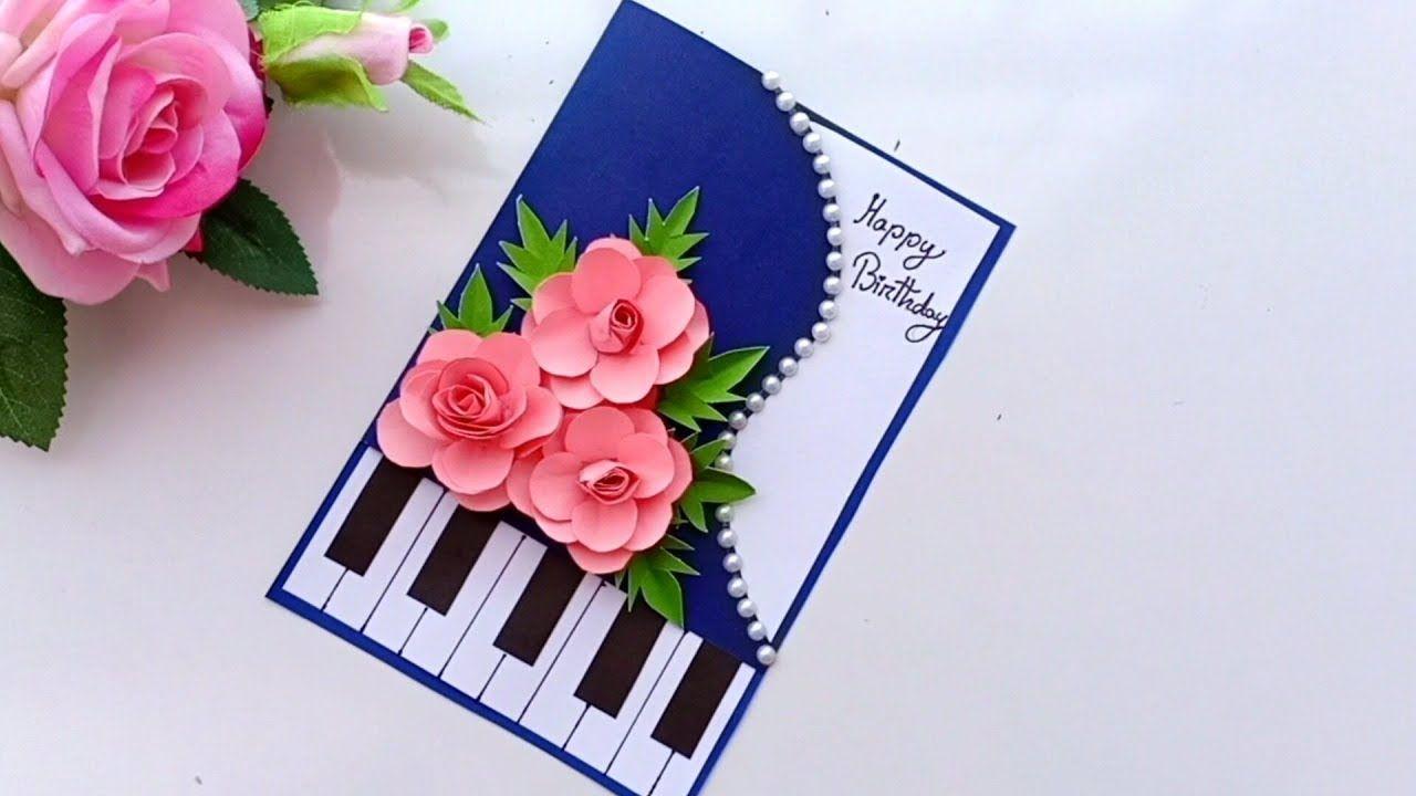 Beautiful handmade birthday cardbirthday card idea