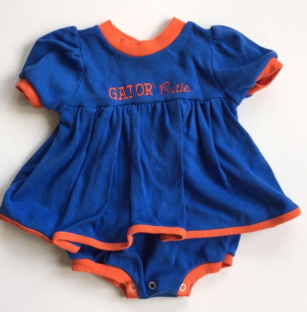 Florida Gators University UF Baby Girl Dress 12M NCAA Football Basketball   LittleKing  FloridaGators Florida 51630a28c