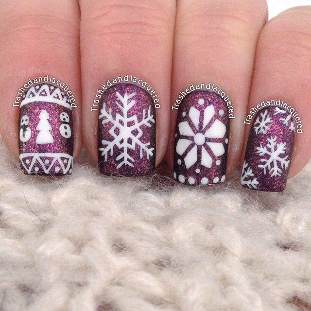 Christmas by trashedandlacquered #nail #nails #nailart