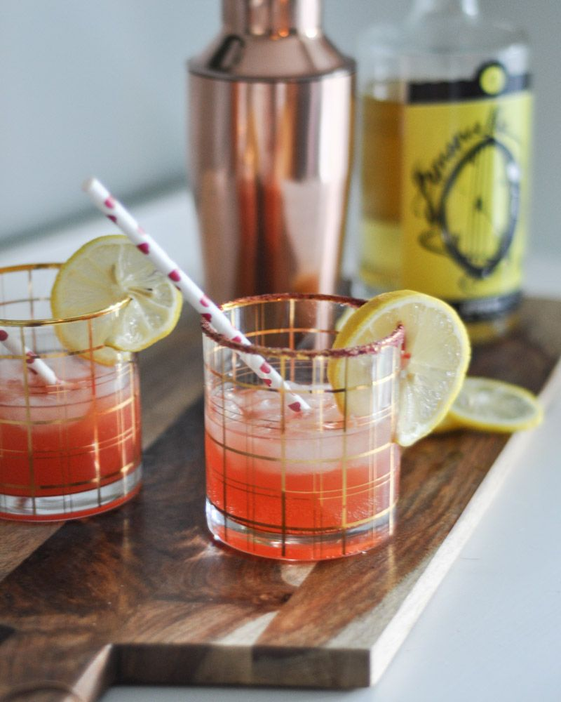 Blood Orange and Limoncello Cocktail with San Pellegrino #limoncellococktails