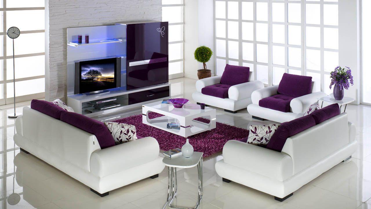 Istikbal Fortin Koltuk Takimi Feminine Living Room Purple Living Room Best Living Room Design