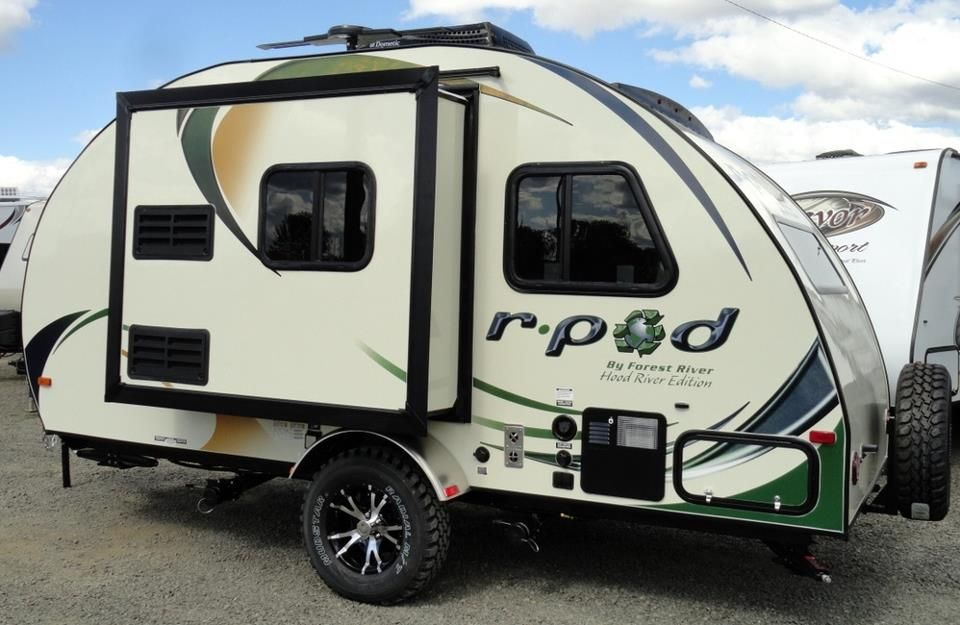 R Pod Hood River Edition Airstream Camping R Pod Camper Trailers