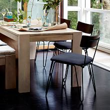 Home Office Furniture & Modern Home Office Furniture  West Elm Captivating Wire Dining Room Chairs Decorating Inspiration