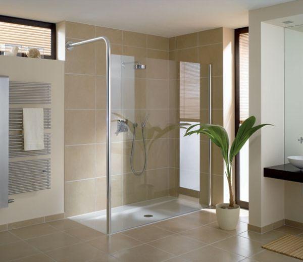 Moderne badezimmer fliesen beige  Badezimmer mit beige Fliesen | kreative Ausraster | Pinterest ...