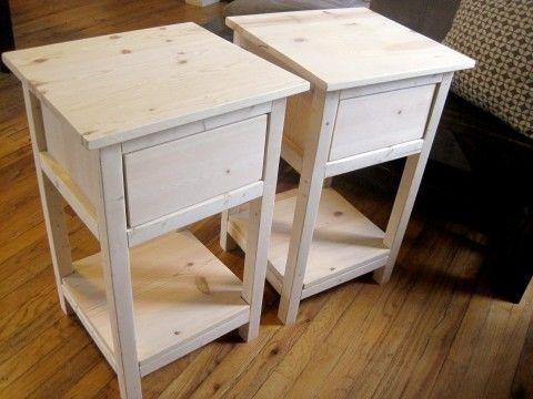 Mini farmhouse bedside table inside house ideas pinterest mini farmhouse bedside table watchthetrailerfo