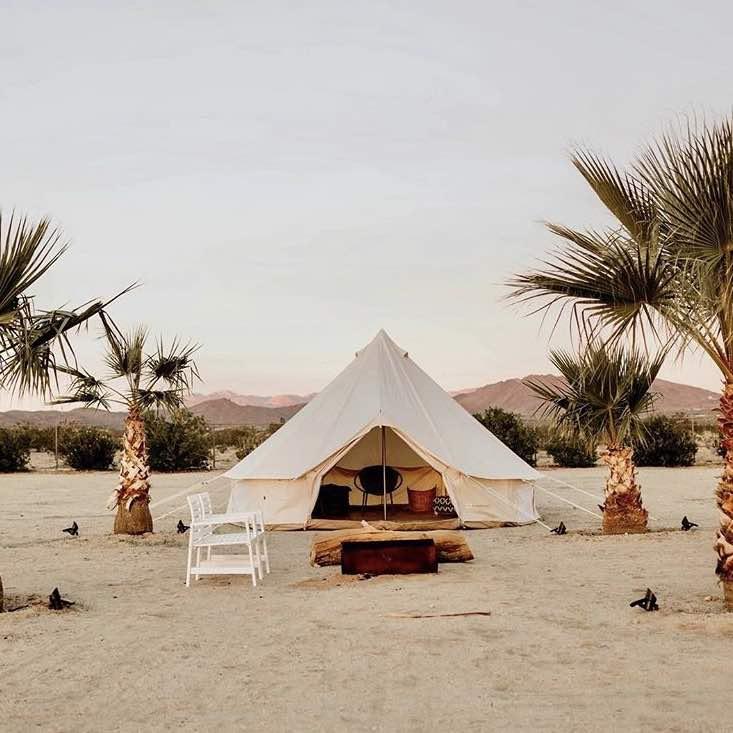 Joshua Tree Glamping: The Best Luxury Tents, Yurts ...