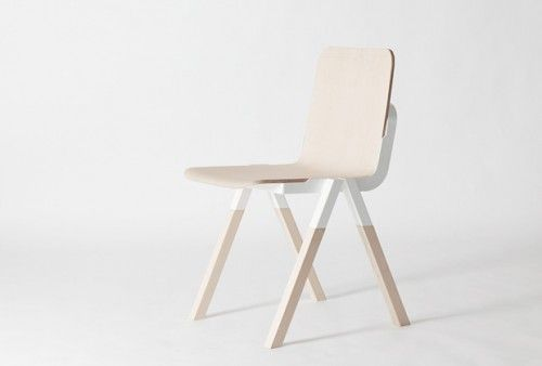 Handle Chair Is A Minimalist Chair Designed By Denmark Based Designer Peter  Johansen. The