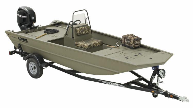 lowe jon boat center console - Google Search   Duck hunting boat