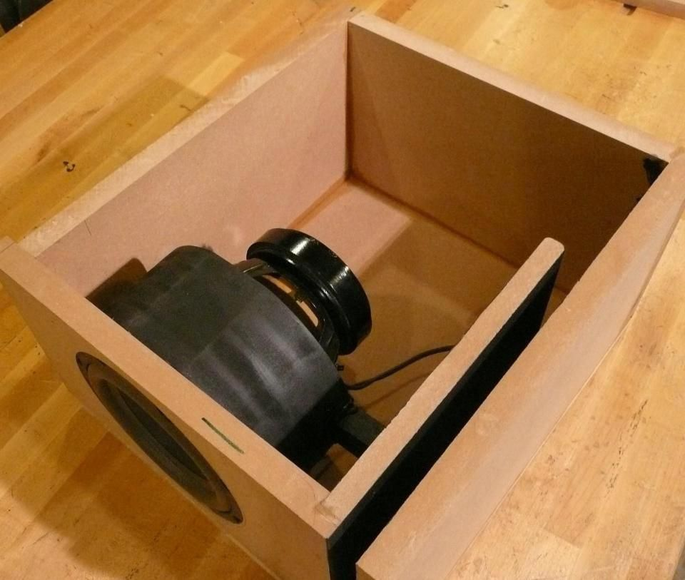 Crafty Design 6 Home Theater Subwoofer Box Plans Small
