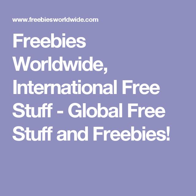 Free stuff worldwide