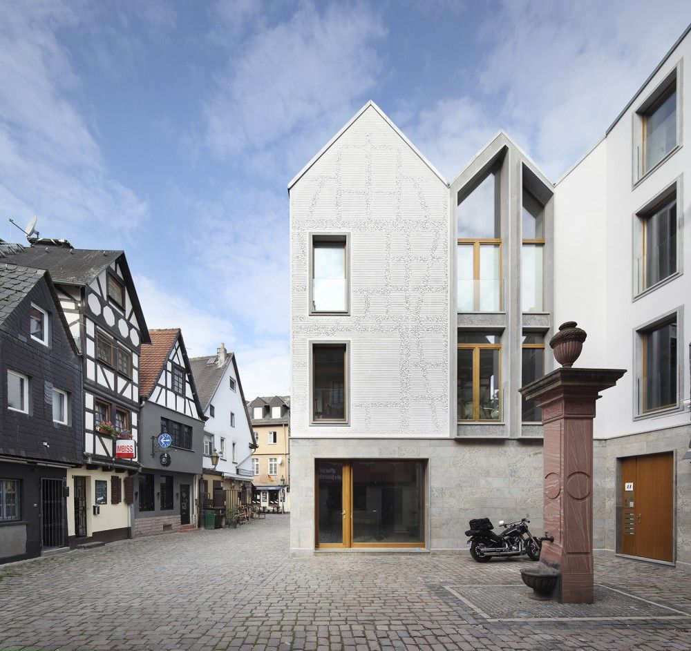 gallery of kleine rittergasse 11 franken architekten 1 architecture social housing and. Black Bedroom Furniture Sets. Home Design Ideas