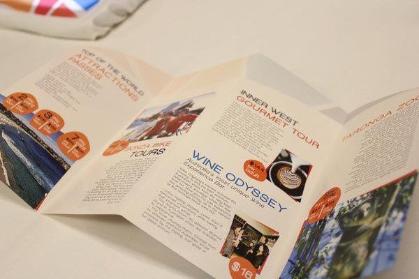 travel pamphlet design