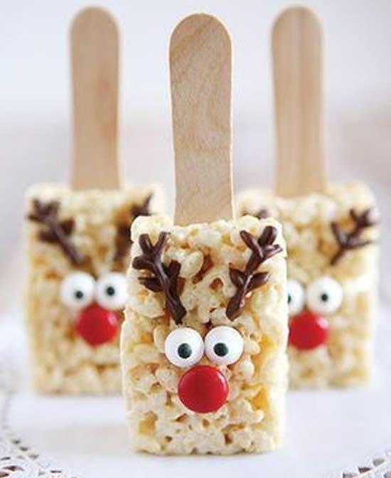 und Cupcakes für Weihnachten dekoriert   - Natal -