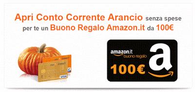 Facilerisparmiare Ingdirect Regala Amazon 100 Euro In Buoni Risparmio Concocorrente Contoarancio Ingbank Regalo Buon Amazon Conti Correnti Conte