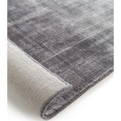 Photo of alfombra de viscosa premium benuta ombre gris 250×350 cm – alfombra moderna para sala de estar