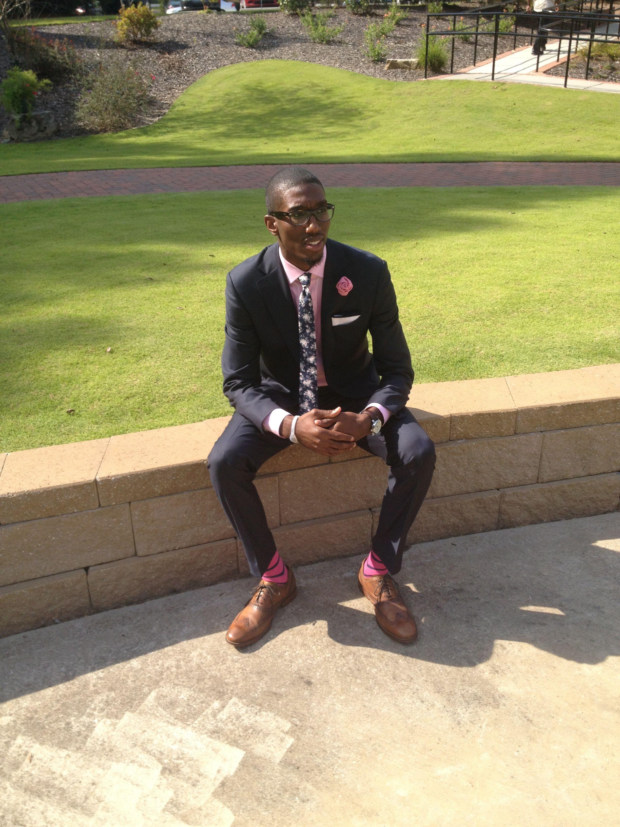 Killer tie and flower lapel combo #suitedman