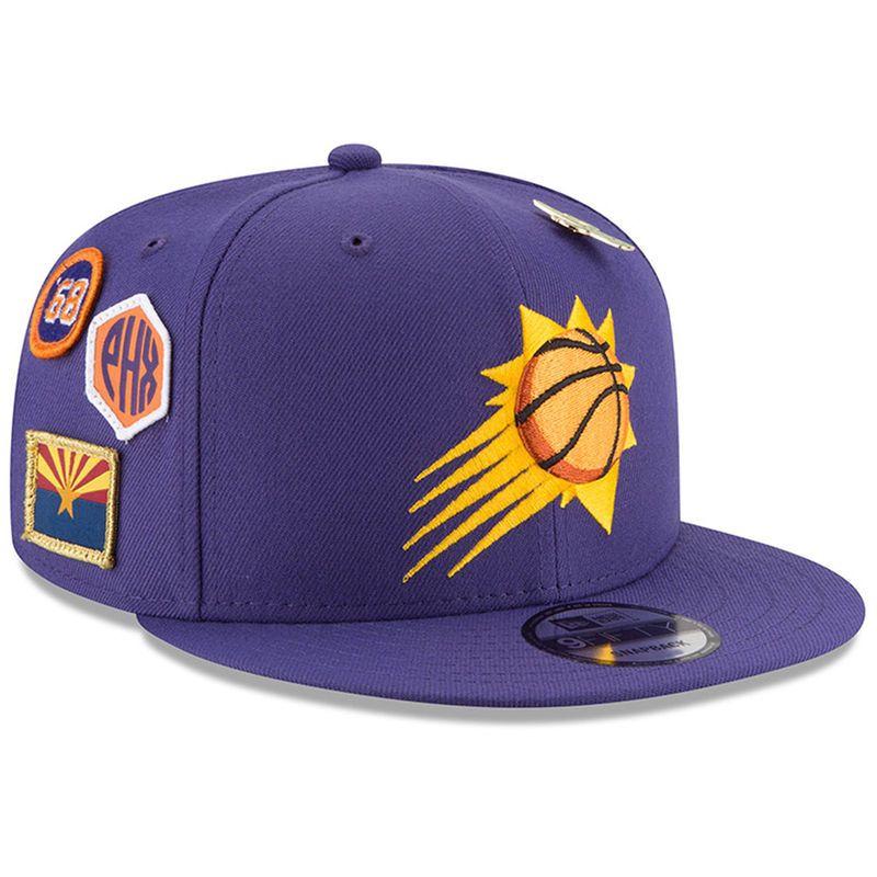 8de6a6134e29e Phoenix Suns New Era 2018 Draft 9FIFTY Adjustable Hat – Purple in ...