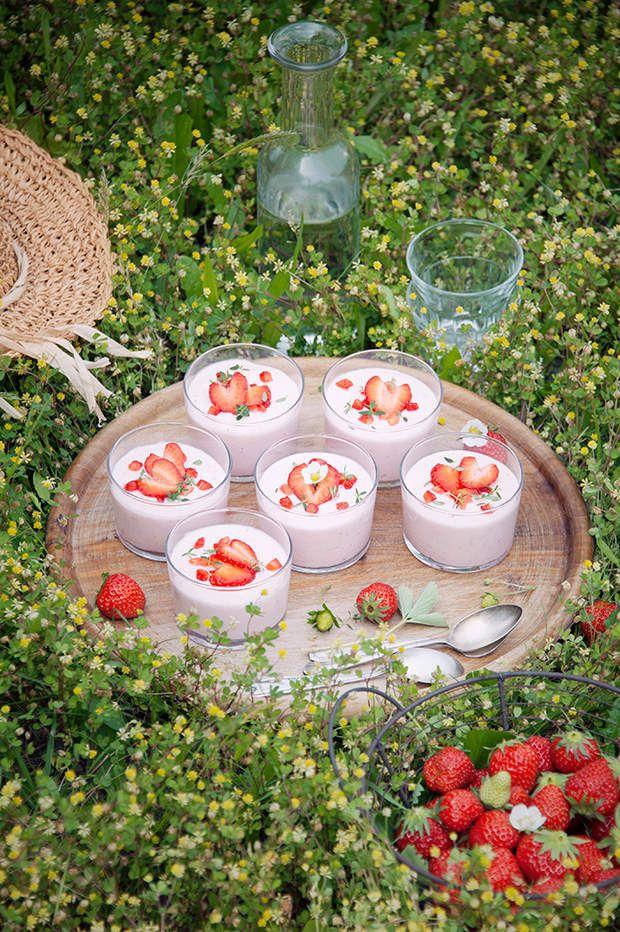 Mousse de fraises au mascarpone - recette facile | Mousse ...
